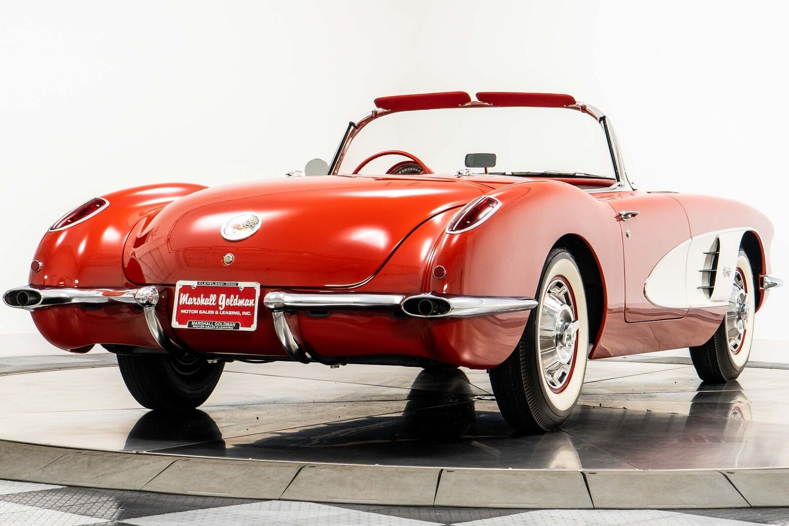 1960 Red Chevrolet Corvette   | C1 Corvette Photo 8