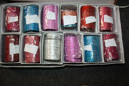 BOX OF INDIAN BANGLES-OVER 500 PIECES