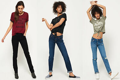 Superdry Womens Imogen Slim Jeans