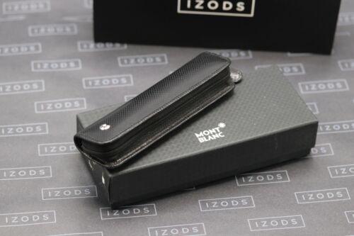 Montblanc La Vie de Boheme One Pen Black Leather Zip Up Pouch