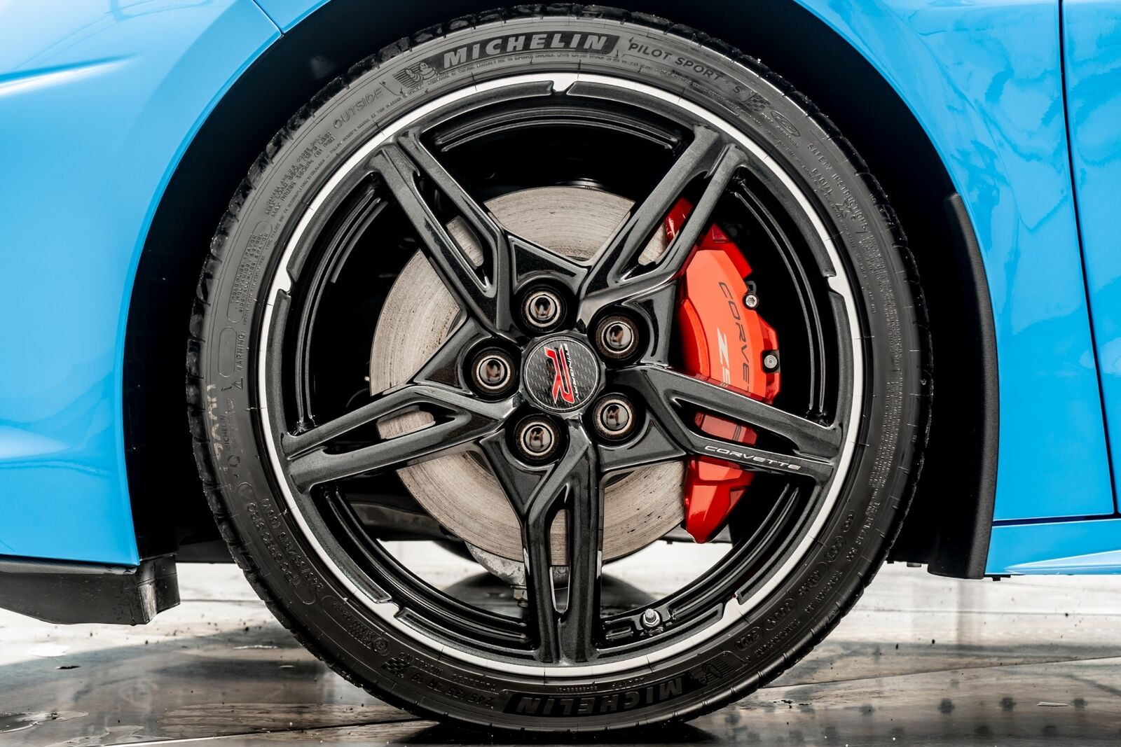 2021 Blue Chevrolet Corvette  3LT   C7 Corvette Photo 9