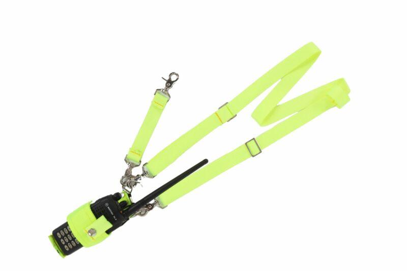 Hi-Viz Radio Harness Fully Adjustable Anti-sway Strap
