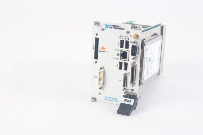 National Instruments NI PXI-8106 Embedded Controller W/ Fujitsu MHW2060BH HDD