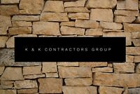 K & K contracting! Affordable and local family run business!