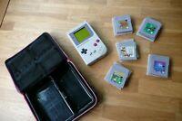 Original Nintendo Game Boy DMG-01 Silbergrau (+Tasche +5 Spiele) Münster (Westfalen) - Centrum Vorschau