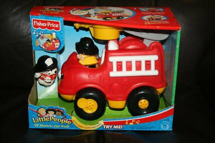 FISHER PRICE: Little People—Lil' Movers Fire Truck