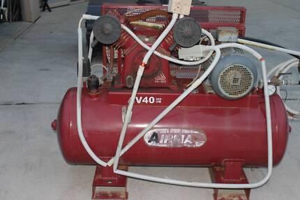 Air Compressor 7.5 Hp V40-250L 415V Electric 250L Tank Fusheng Pu
