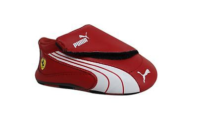 Puma Drift Cat 4 L SF Crib Soft Sole Red Synthetic Baby Shoes 303976 06  A2B