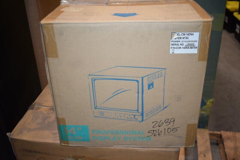 NEW NTSC CM-14DNA, AC 100-240V 50/60 Hz 14