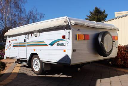 Jayco Eagle 2006 Camper Trailer with awnings & annex.