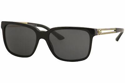 Versace Men's VE4307 VE/4307 GB1/87 Black/Gold Sunglasses 58mm