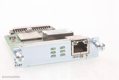 Cisco VWIC3-1MFT-T1/E1 1-Port T1/E1 Multiflex Trunk Voice WAN Card Karte