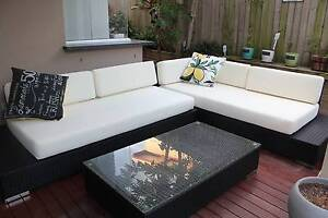 Outdoor Wicker Lounge Redcliffe Redcliffe Area Preview
