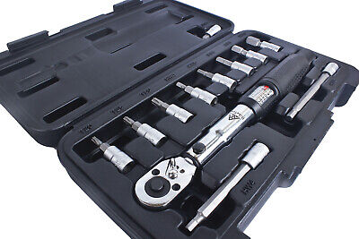 BikeTool Best Cycling Bike Torque Wrench Set 1/4