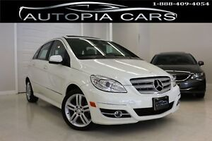 2010 Mercedes-Benz B-Class B200/PANORAMIC SUNROOF/ CERTIFIED