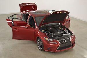 2014 Lexus IS 250 AWD F-Sport Serie 2 GPS*Cuir*Toit*Camera Recul