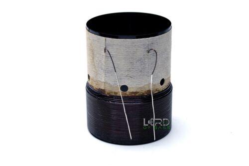 """2""""  Dual 4 Ohm Voice Coil  Subwoofer Speaker Parts VC150103"""