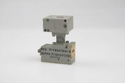 Rca Pn 8567106-3 Alpha Pn 61692200 Wr42 Waveguide Sma