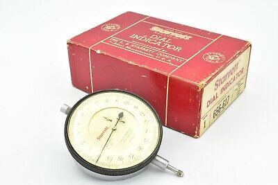 Starrett Dial Indicator No. 656-617 .0001 .400 Range