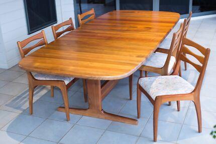 Solid Tasmanian Blackwood Dining (Extendable) Parker Eames Era Manly West Brisbane South East Preview