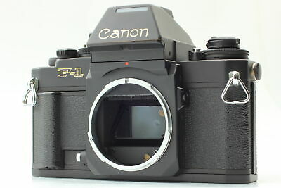 [Near MINT]  Canon New F-1 AE Finder 35mm SLR Film Camera Black Body From JAPAN