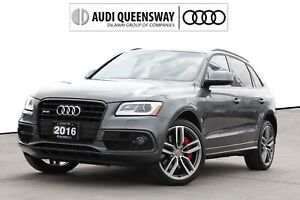 2016 Audi Sq5 3.0T Technik|No Accidents|Blac Optics|B&O