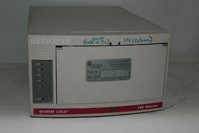 Beckman Coulter System Gold 168 Hplc Detector Catalog 728168