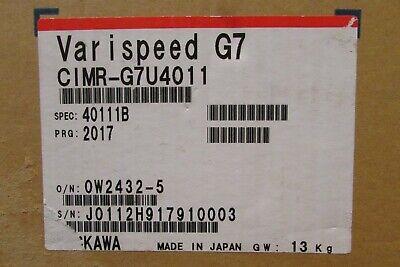Yaskawa Cimr G7u4011 Varispeed G7 Drive 480v 20hp