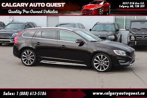 2015 Volvo V60 T5 Premier Plus AWD/B.CAM/LEATHER/ROOF
