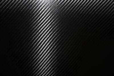 11,00€/m² Carbonfolie 150 x 300 cm schwarz 3D Blasenfrei KFZ Auto Carwrapping