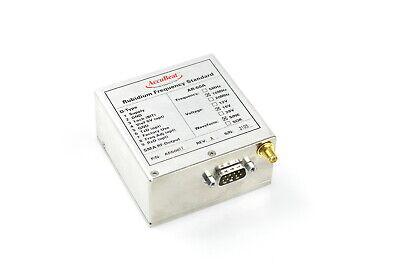 Accubeat Rubidium Frequency Standard Ar-60a 10mhz 15v Sine 10