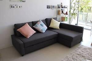 IKEA FRIHETEN Corner sofa-bed with storage + FREE foldable mattress Woolloomooloo Inner Sydney Preview