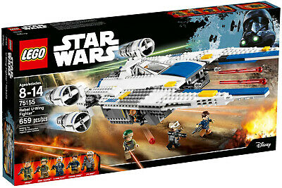 LEGO 75155 Star Wars Rebel U Wing Fighter - BRAND NEW - FREE POSTAGE