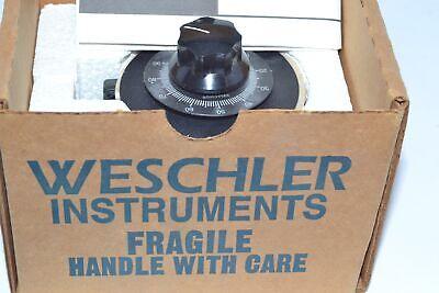 New Weschler Instruments 9t92a0001 Variable Transformer 120v 5060hz V-pac