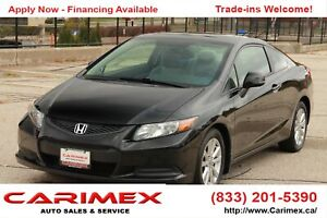 2012 Honda Civic EX CERTIFIED | Accident-FREE | CERTIFIED