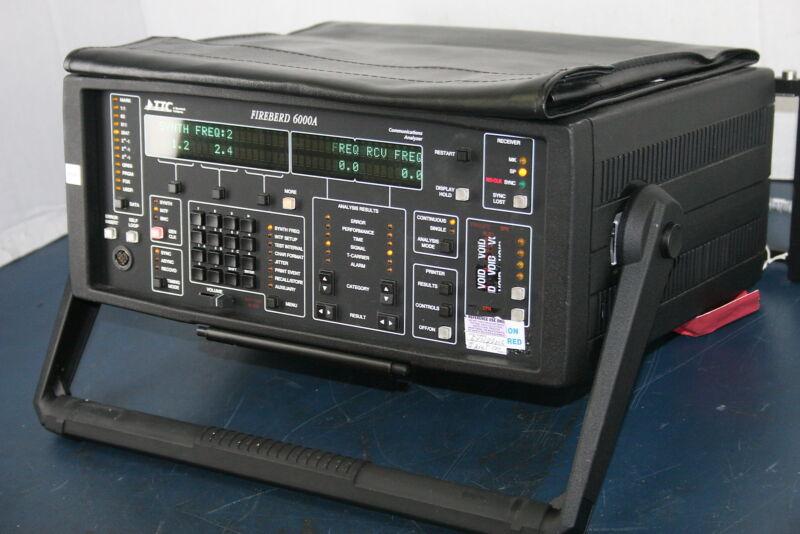 """TTC FB6000A Firebird T1 Analyzer Option 6005 """"Make an Offer"""""""
