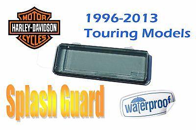 Harley Davidson Touring Waterproof Splash Guard CD Radio Stereo Adapter Kit Tint