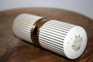 FLACON-ANCIEN-parfum-Nina-Ricci-Paris-atomiseur-recharge-vide-en-laiton-peint