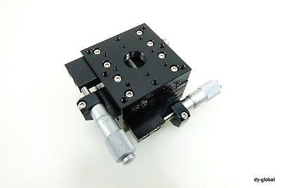 Toptek Used Mxy60l Xy Micrometer Positioner -7.5mm 60x60x40 Sta-i-2465f41