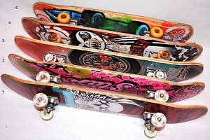 5 x SKATEBOARDS ALL COMPLETE, Offers Welcomed