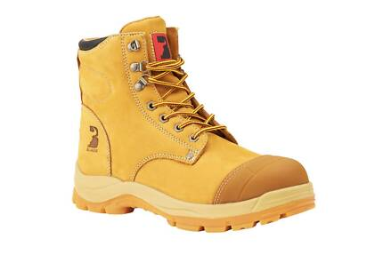 Bullworks Steel Cap Work Boots Size 5-13 - WHEAT *DELIVERED*