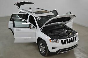 2015 Jeep Grand Cherokee Limited V6 4x4 Cuir*Toit*Camera Recul*