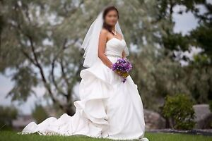 Beautiful Wedding Gown for Salw