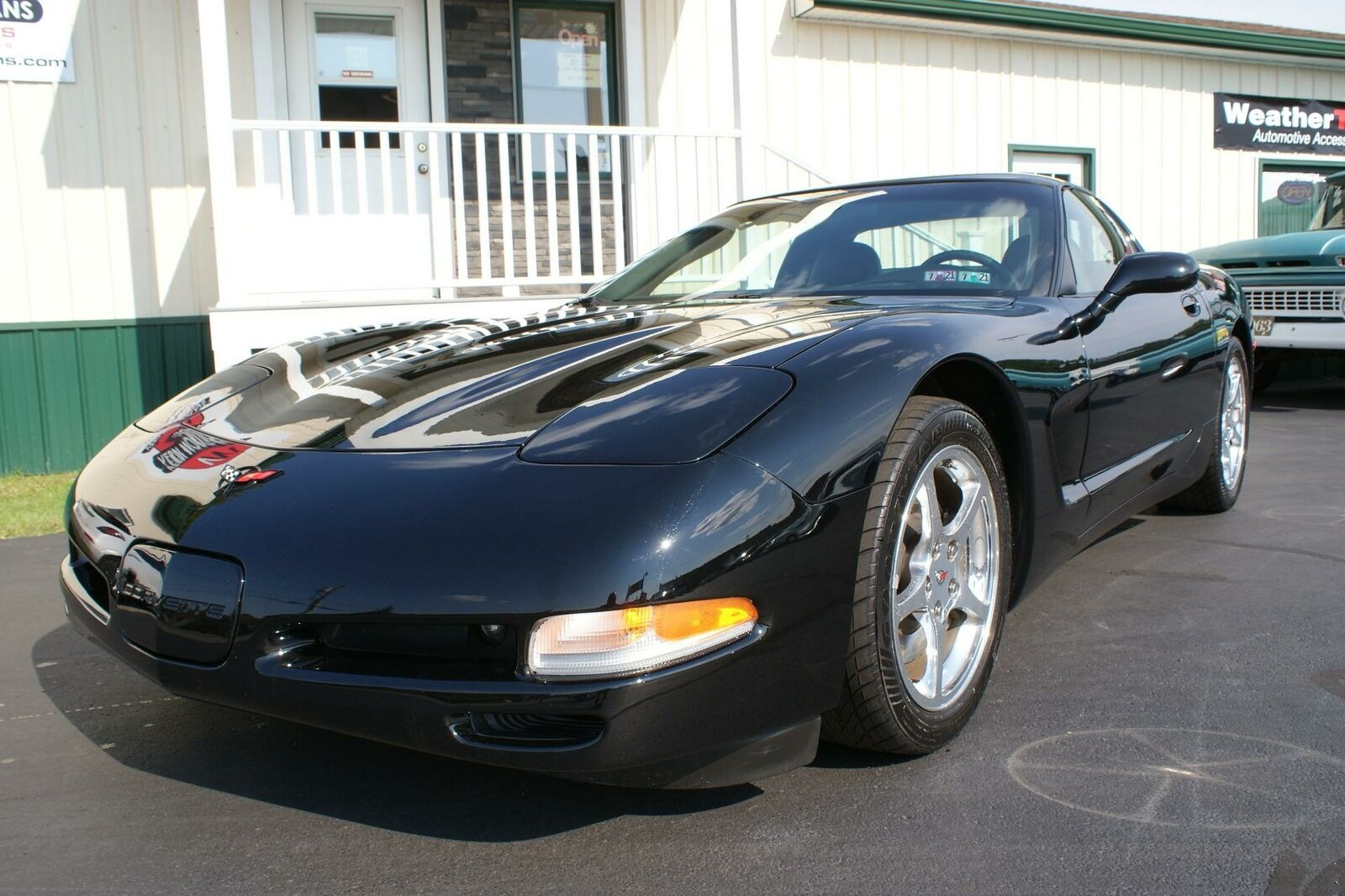 2004 Black Chevrolet Corvette   | C5 Corvette Photo 2