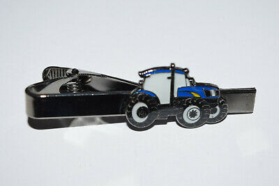 Fordnew Holland Tractor Tie Clip Novelty Farming Inc Gift Pouch Enamel Suit