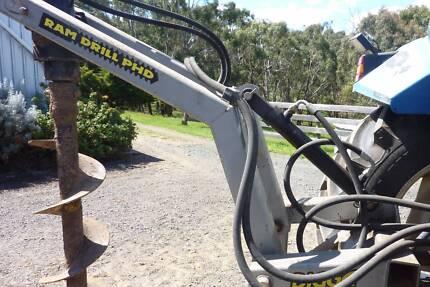 3 point linkage Hydraulic Post hole borer