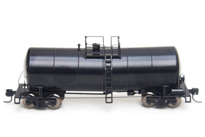 TT-Scale 1:120 US Prototype UTC Funnel-Flow Tank Car MTB - Black-undec RTR