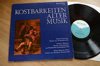ETERNA 820706 COLLEGIUM TERPSICHORE Kostbarkeiten Alter Musik PRAETORIUS