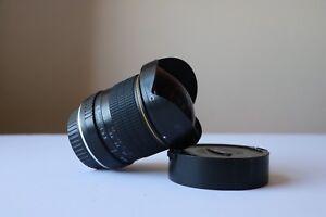 Opteka fish eye lens