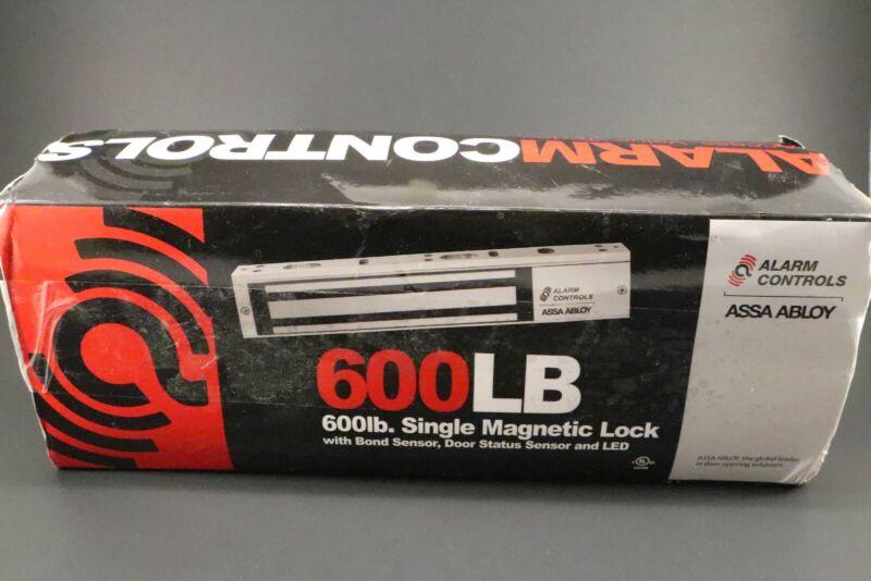 Alarm Controls ASSA ABLOY 600LB Single Magnetic Door Lock, LED Sensor